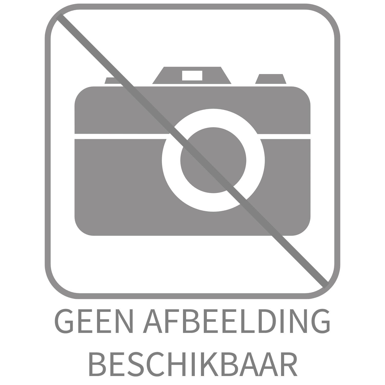 luxe wastafel/fonteinplug open 5/4 geborsteld rvs van Tiger (plug)